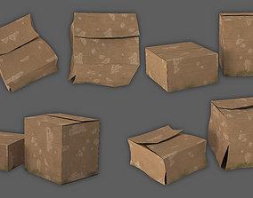3D model cardboard box tool