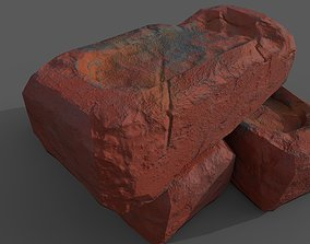 3D asset old bricks