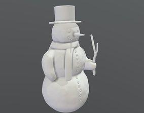 Snowman 3d-printable
