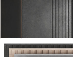 Decorative wall panel set 41 3D