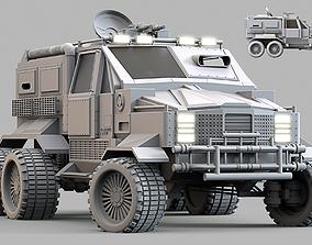 3D model cargo Military Infantry Transport Vehicle