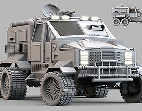 3D model Military Infantry Transport Vehicle