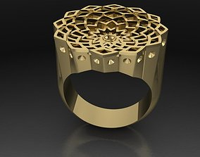 3D print model deep ring