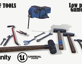 Set of tools 02 3D asset