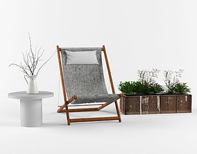 Outside chairs 3D model
