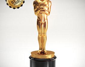 3D Oscar Statuette