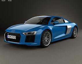 3D model Audi R8 2016