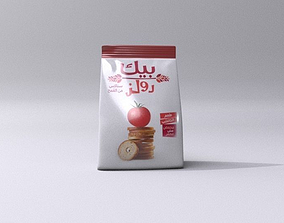 Bake rolls 3D model