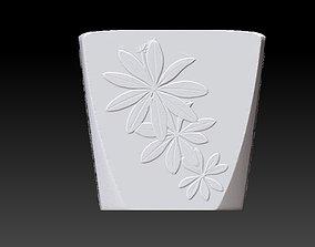 3D printable model Extended pot 20