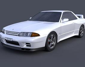 3D model Nissan Skyline GTR R32