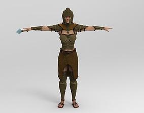 3D model The Spear Guardian