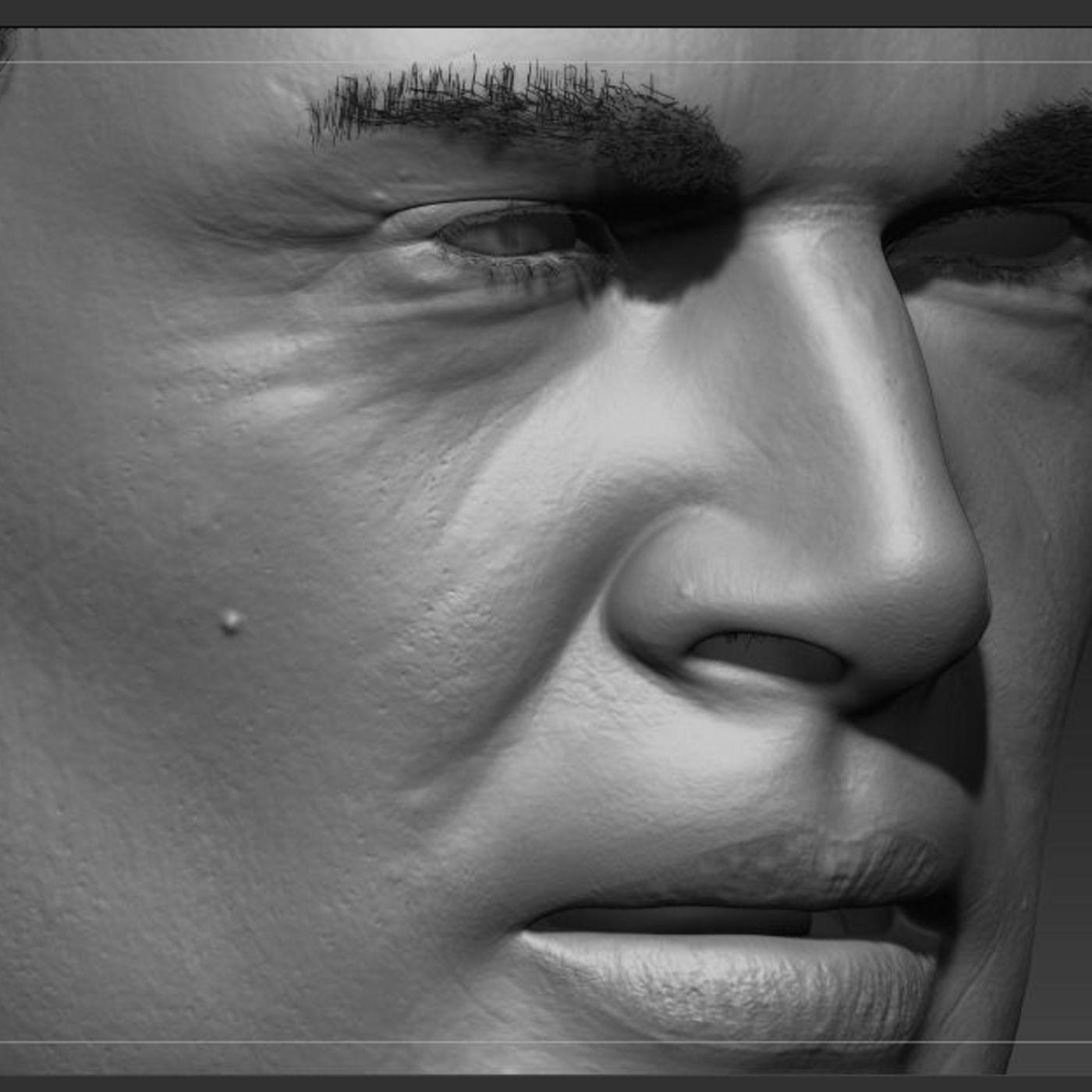 Zbrush  face sculpt
