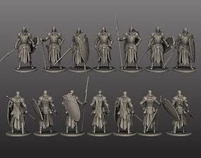 3D print model Medival Knights