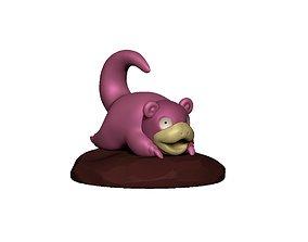 3D print model Pokemon Slowpoke