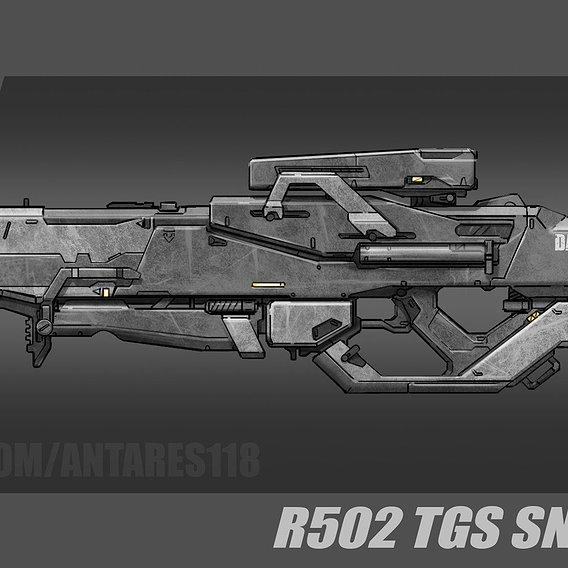 Weapon concept-art