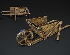 Wheelbarrow 3D asset