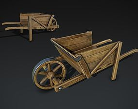 Wheelbarrow 3D asset