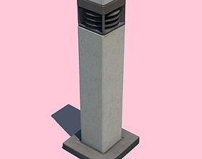 Bollard Light-3D Scan