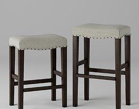 3D asset PB Manchester Backless Bar and Counter stool