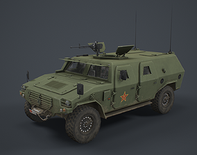 3D model Dongfeng CSK131 Mengshi