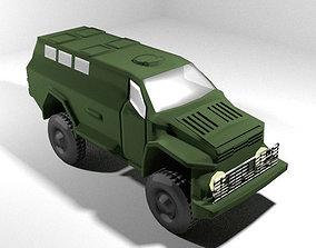 3D Armoured Car - 1st WIN