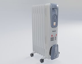 3D asset home appliance heat radiator