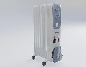 3D asset home appliance heat radiator
