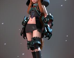 3D model Xena a Cat Girl