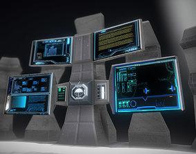 Contorl Panel 3D model