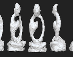 sit in meditation 3D print model religion