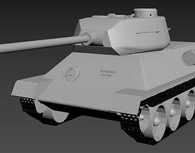 war T-34-85 3D