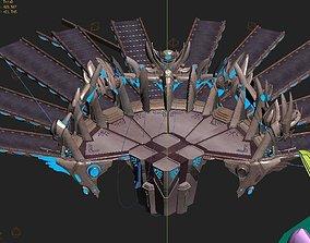 3D model Tian guan -Admission-Door 01