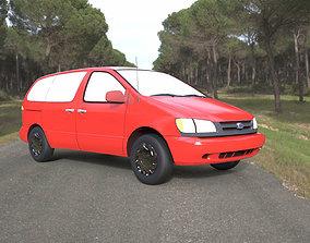 3D model Toyota Sienna 2000