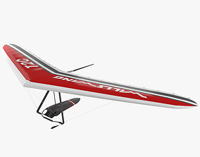 3D model Hang glider Wills Wing T2C