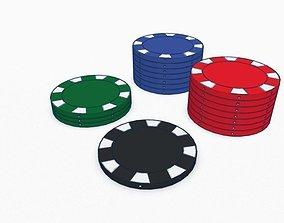 Poker Chip 3D print model