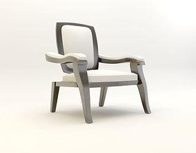 3D model chair for living room