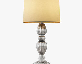 Scalloped Table Lamp 3D