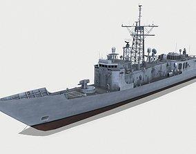 3D model USS Simpson FFG 56