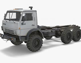 3D model Kamaz Truck