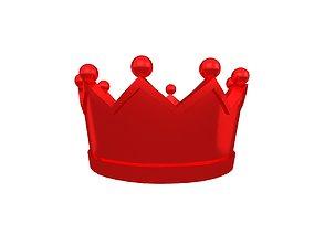 Crown v2 009 3D asset