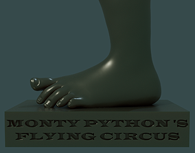 3D printable model Monty Pythons Flying Circus Foot
