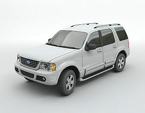 2004 Ford Explorer SUV 3D