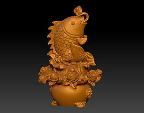 3D printable model Jumping fish