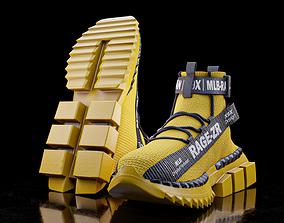 3D model Sneakers RAGE-ZR Urban-Legend X9X
