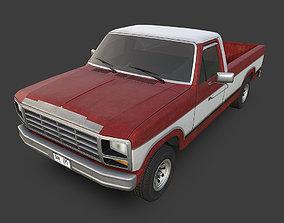 Pickup Truck 3D asset realtime