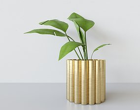 3D PBR Potted Plant