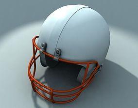 hobby 3D model American football helmet