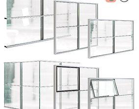3D Curtain Wall