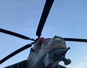HIND MI24 RUSSIAN HELICOPTER - SCALE MODEL - ASSEMBLY