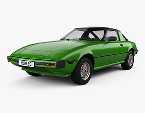 3D model Mazda RX-7 1978